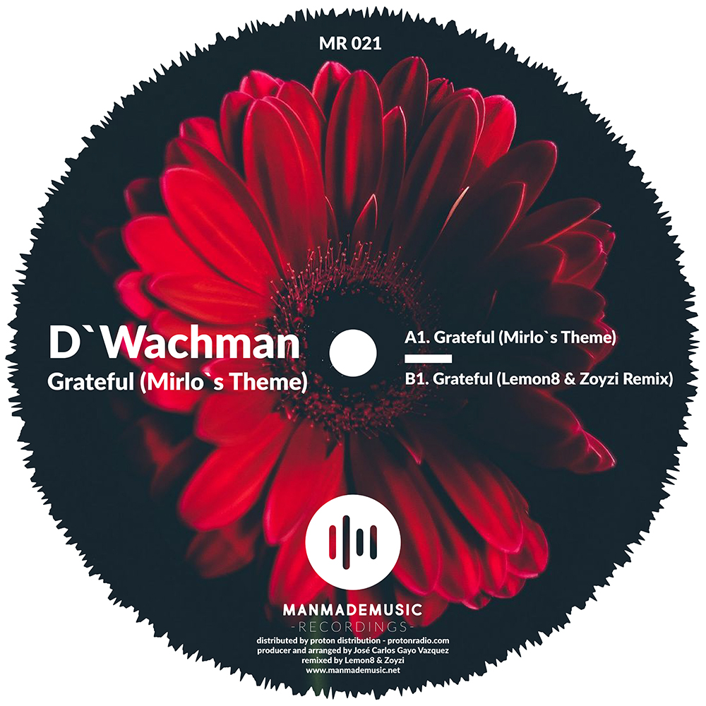 D'Wachman Grateful EP Artwork