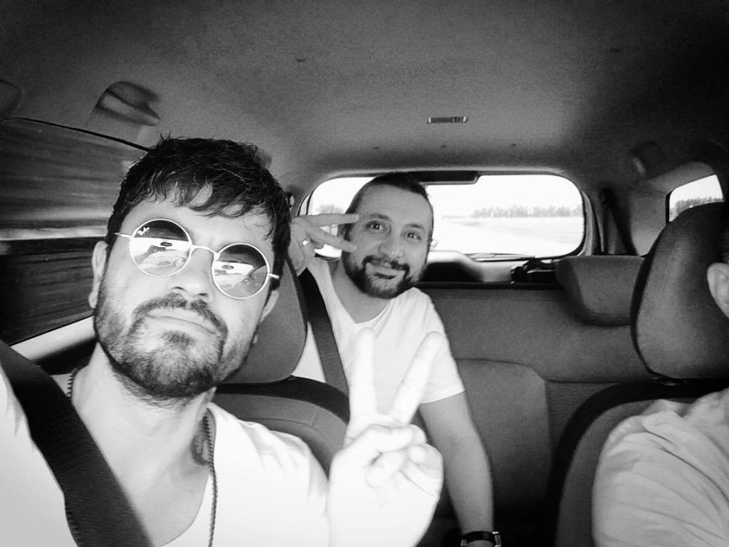 travelling with sharam